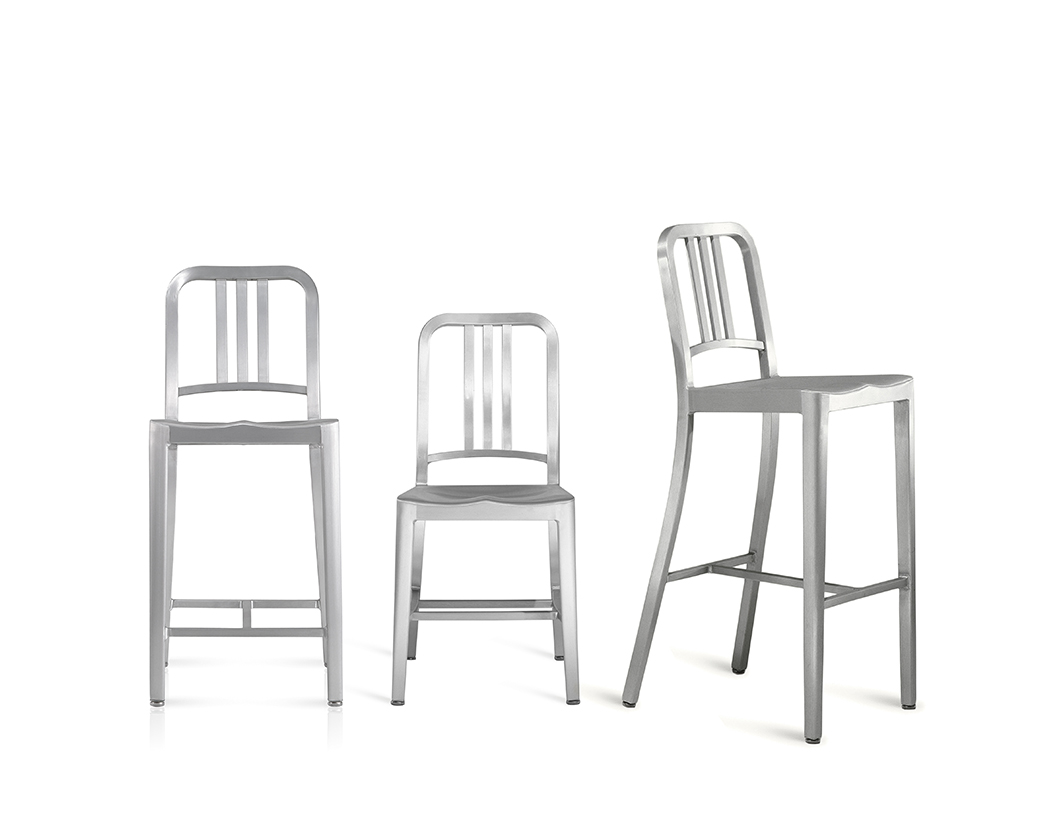 finally the chair is anodized for a durable finish we guarantee the navy chairs for life - Navy Chair