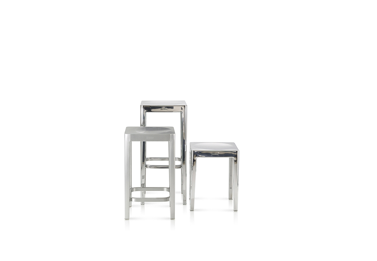 Image of Emeco Stool by Philippe Starck