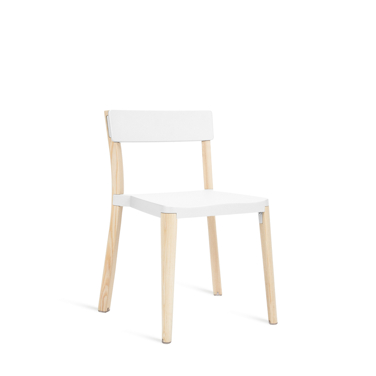 LANCASTER CHAIR WHITE/LIGHT ASH
