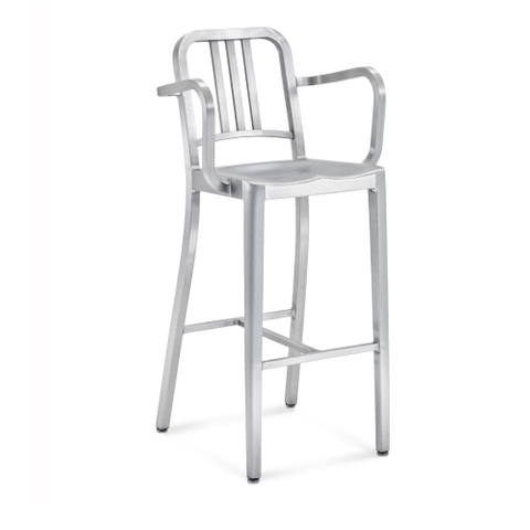 NAVY® BARSTOOL WITH ARMS