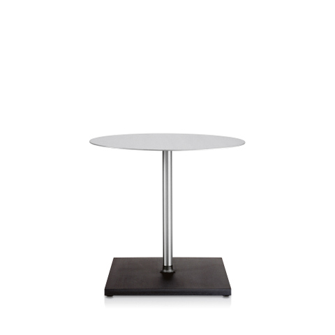 ROUND BRUSHED CAFÉ TABLE
