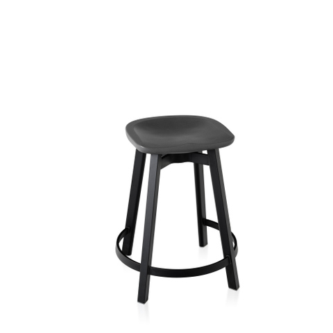 SU COUNTER STOOL, RECYCLED POLYETHYLENE SEAT