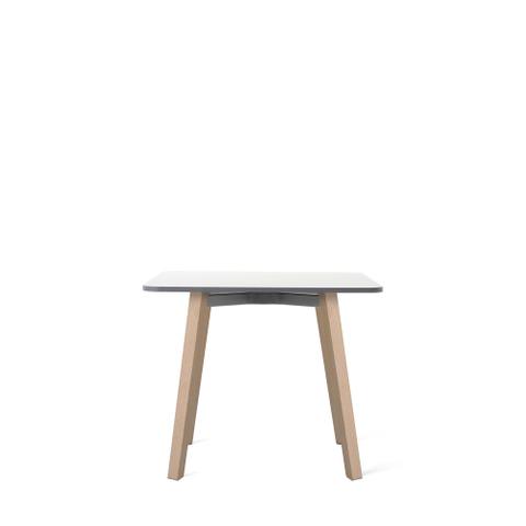 "SU LOW TABLE 21.6"" WOODEN LEGS"